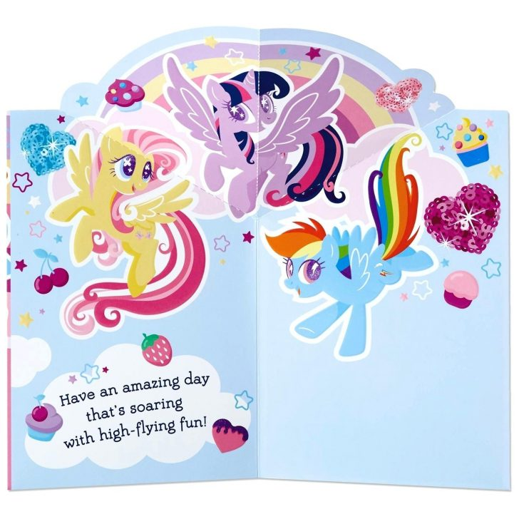 Free Printable My Little Pony Thank You Cards