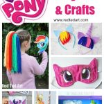 My Little Pony Party Ideas & Crafts   Red Ted Art   Free My Little Pony Party Printables