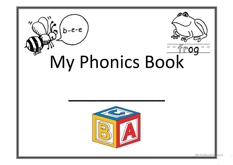 My Phonics Book Worksheet - Free Esl Printable Worksheets Made - Free Printable Phonics Books For Kindergarten