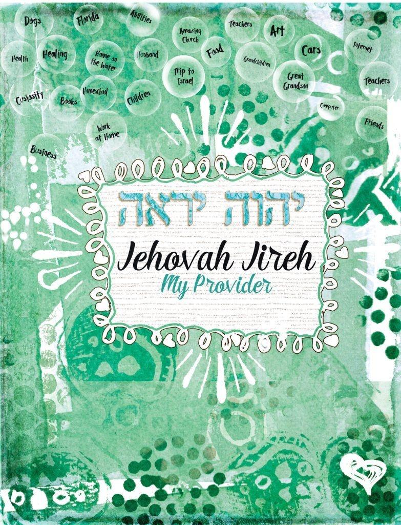 Names-Of-God.-Jehovah-Jireh Free Printable. Bible Journaling Digital - Free Printable Names Of God
