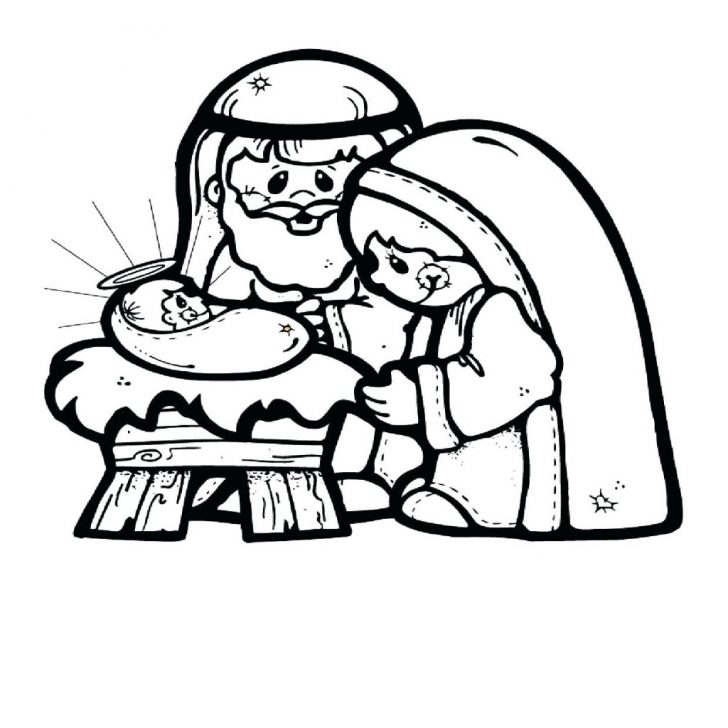 Free Printable Christmas Story Coloring Pages