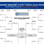 Ncaa Bracket 2019: Check Out How Virginia Was Able To Claim The   Free Printable Brackets Ncaa Basketball