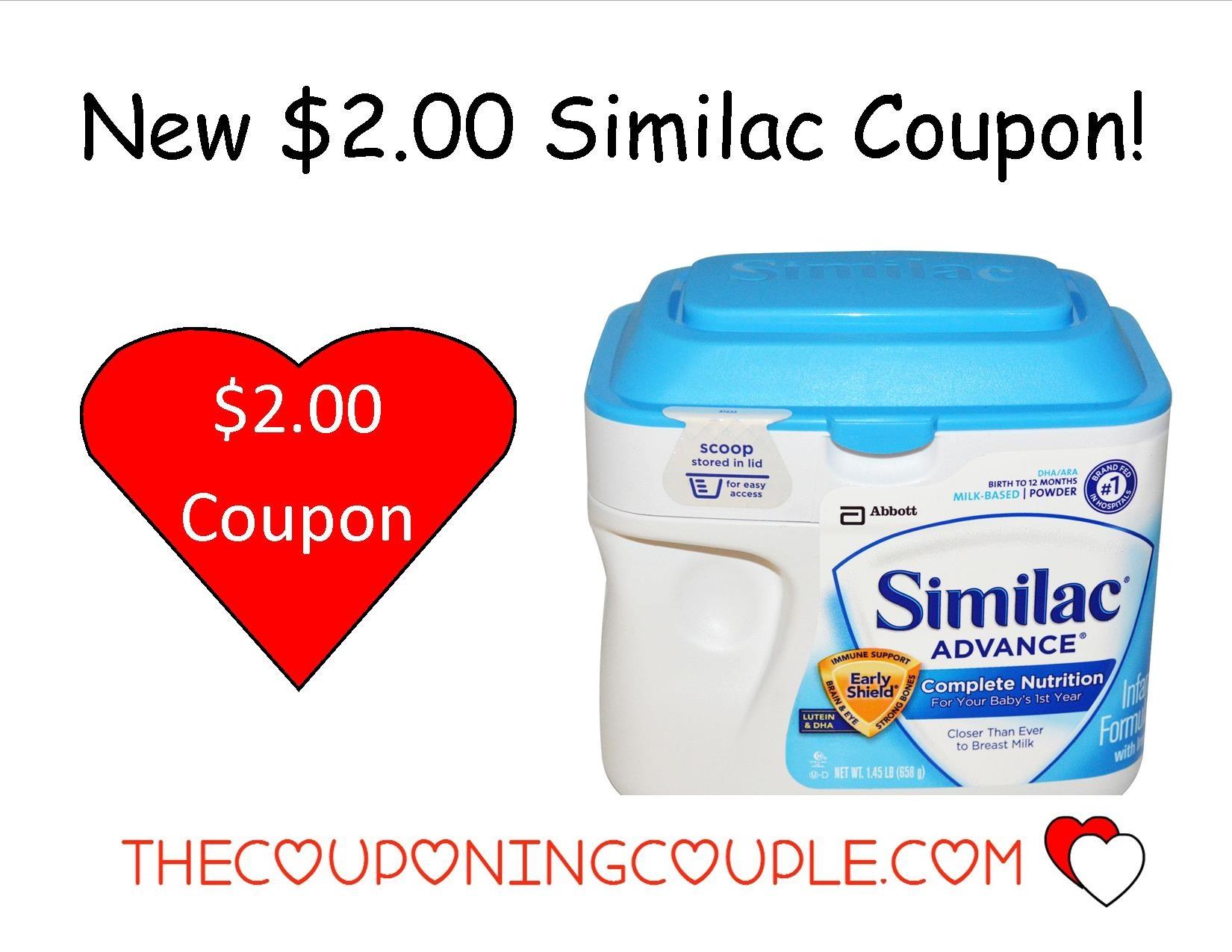 New $2.00/1 Similac Formula Coupon + Walmart Deal! - Free Printable Similac Coupons 2018