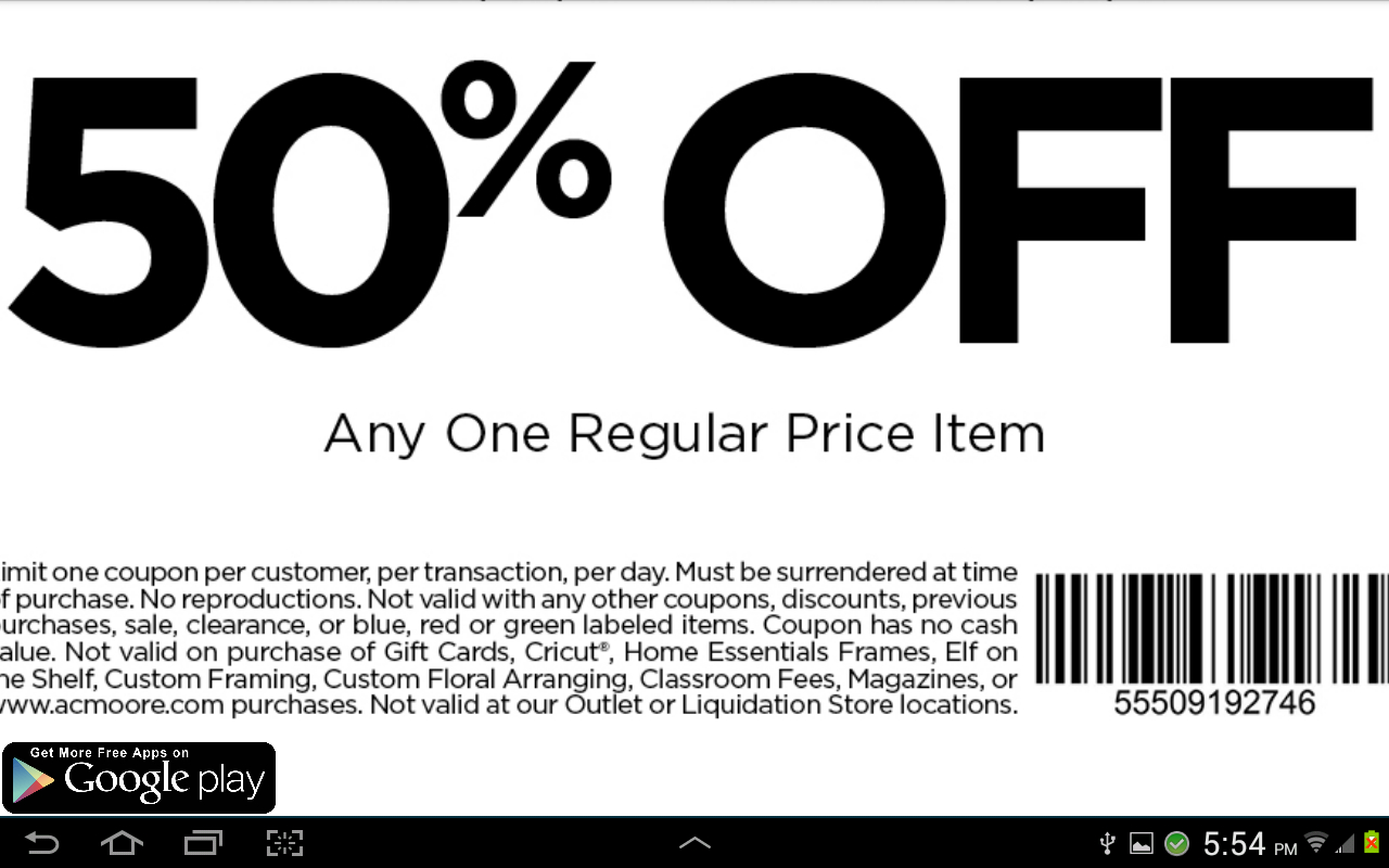 New-Acmoore-Coupons-For-Phone (5) – Printable Coupons Online - Free Online Printable Ac Moore Coupons
