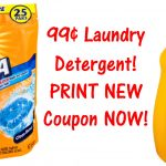 New Arm & Hammer Printable Coupons = $0.99 Laundry Detergent!   Free Printable Arm And Hammer Laundry Detergent Coupons