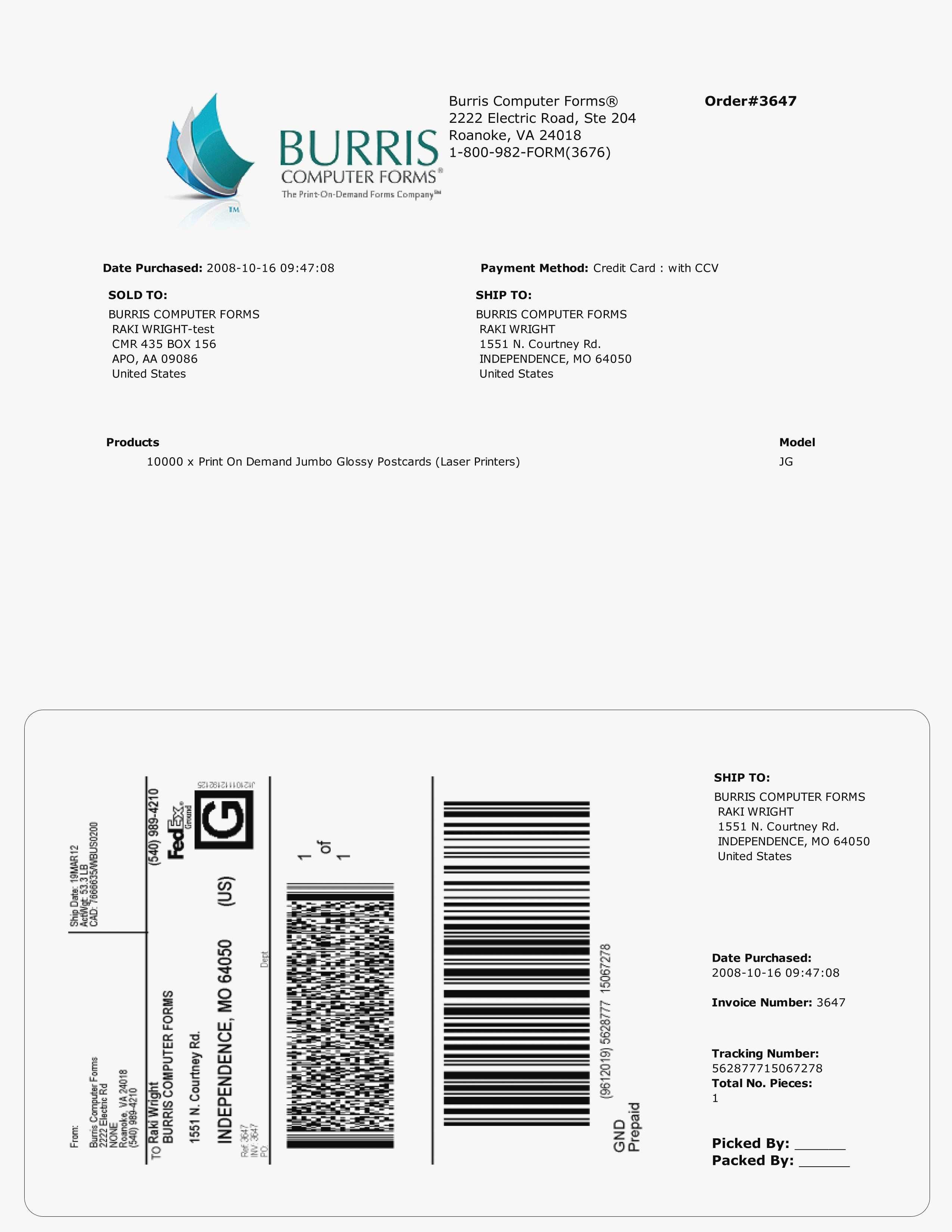 New Fedex Print Shipping Label - Acilmalumat - Free Printable Shipping Label Template