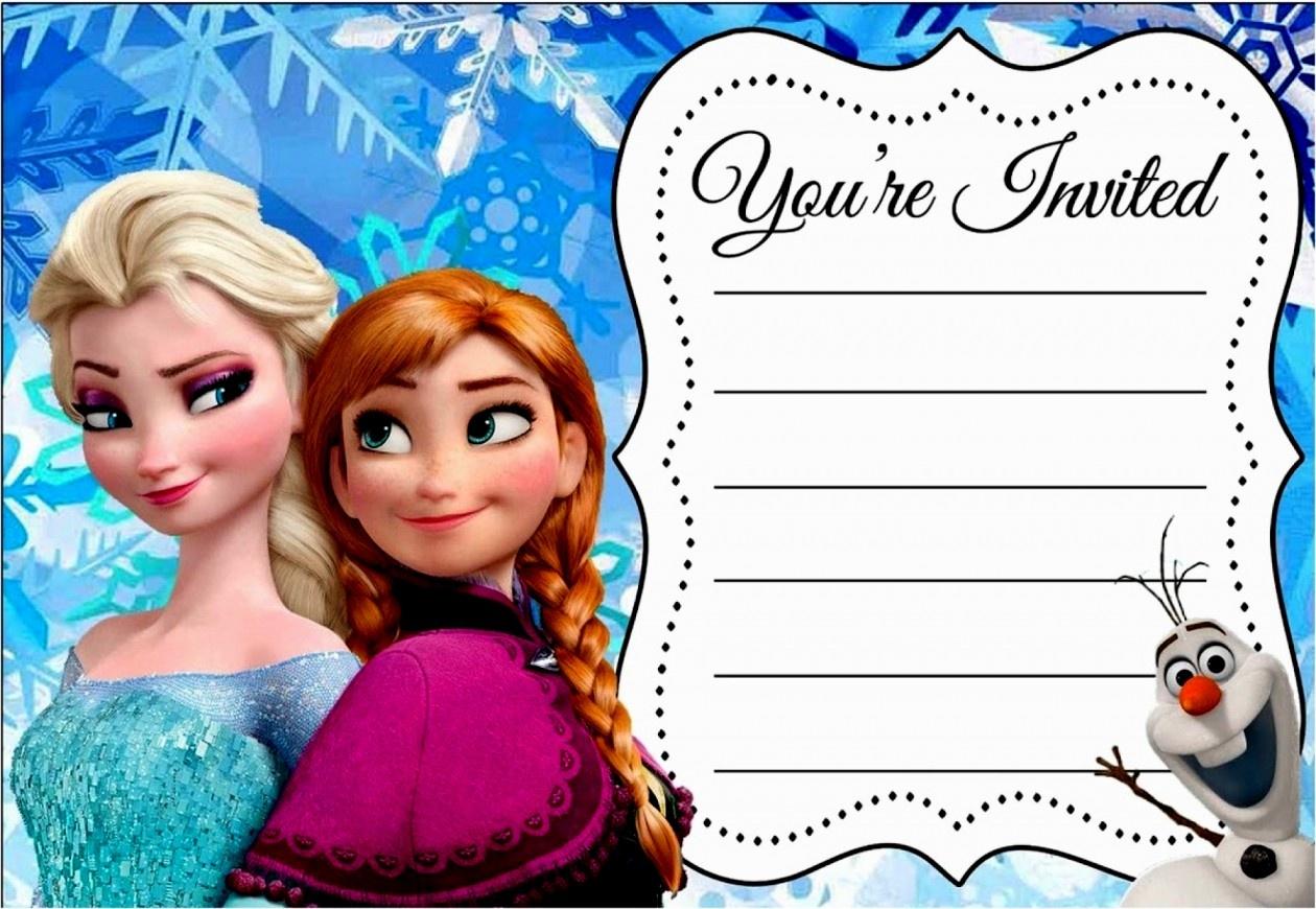 New Frozen Birthday Invitations Free Invitation Ideas Pinterest - Free Printable Frozen Birthday Invitations