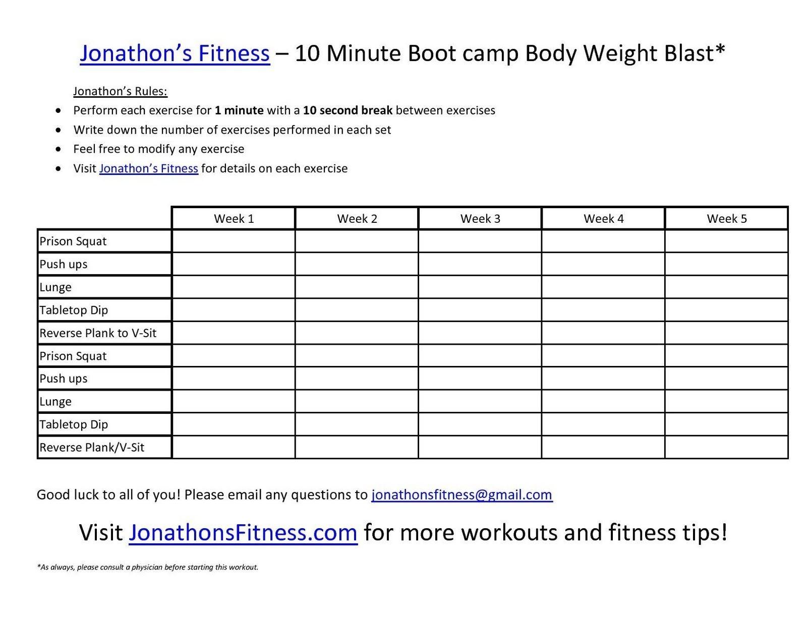 New Printable Work Out Routines   Mavensocial.co - Free Printable Gym Workout Routines
