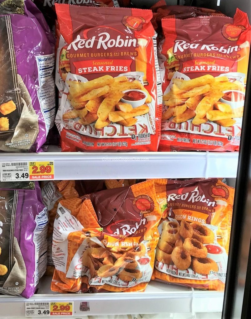 New Red Robin, Arby's, Or Checker Fries Coupon = $1.99 At King - Free Red Robin Coupons Printable