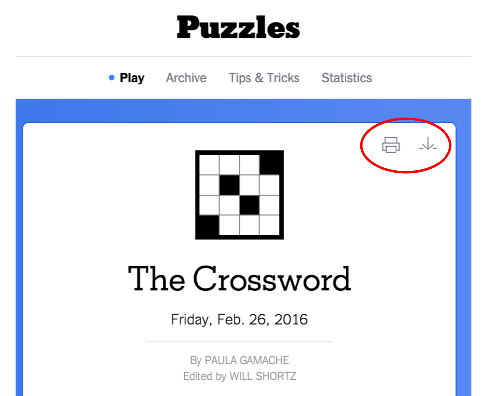New York Times Crossword – Help - Free Printable Ny Times Crossword Puzzles