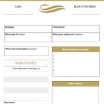 Newly Revised Printable Bible Study Guide | Brittney Moses   Free Printable Bible Study Guides