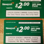 Newport Cigarette Coupons (2) Each $2.00 Off A Pack In 2019 | Places   Free Printable Newport Cigarette Coupons