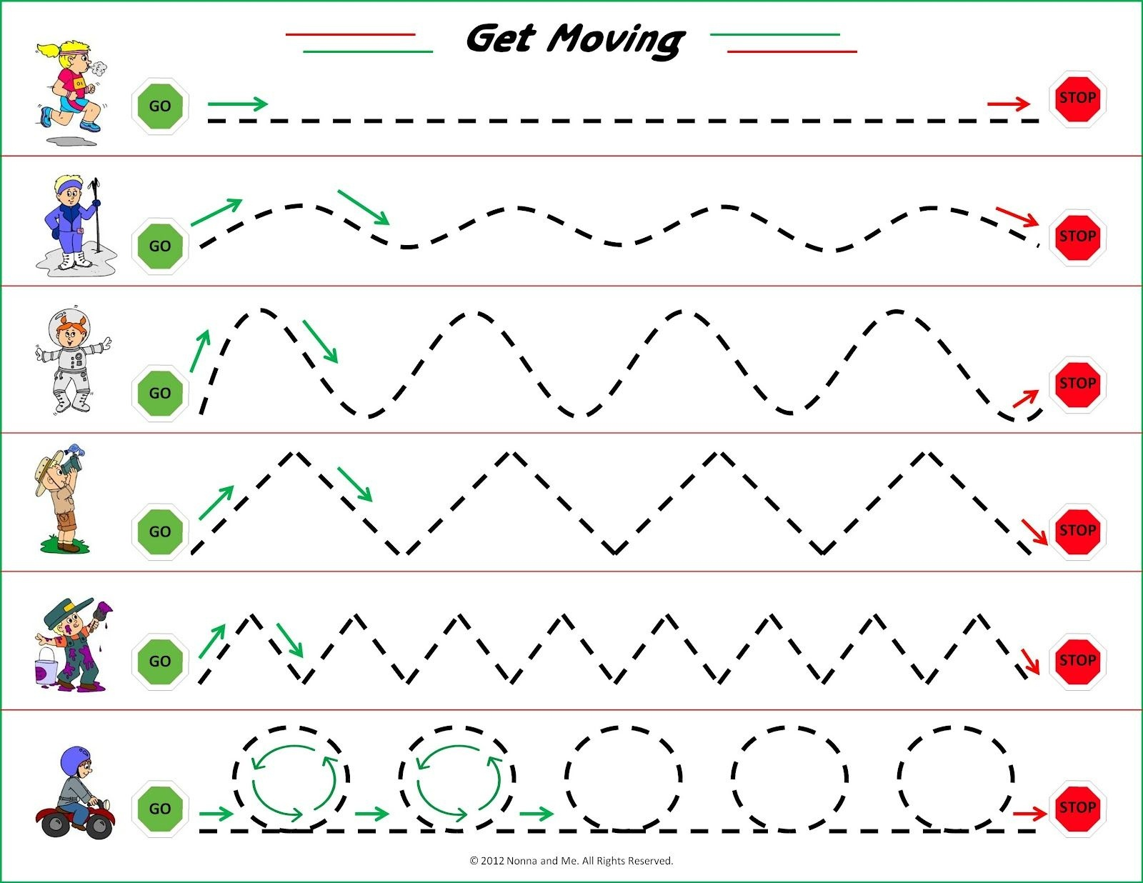 Nice Parent Friendly Info On The Importance Of Eye Hand Coordination - Free Printable Fine Motor Skills Worksheets