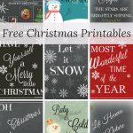 Nine Free Holiday Printables | Best Of Farm Girl Reformed   Free Holiday Printables