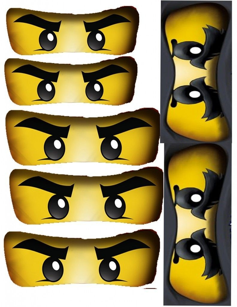 Ninjago Birthday Party + Free Ninjago Party Printables ~ Featured - Free Ninjago Printables