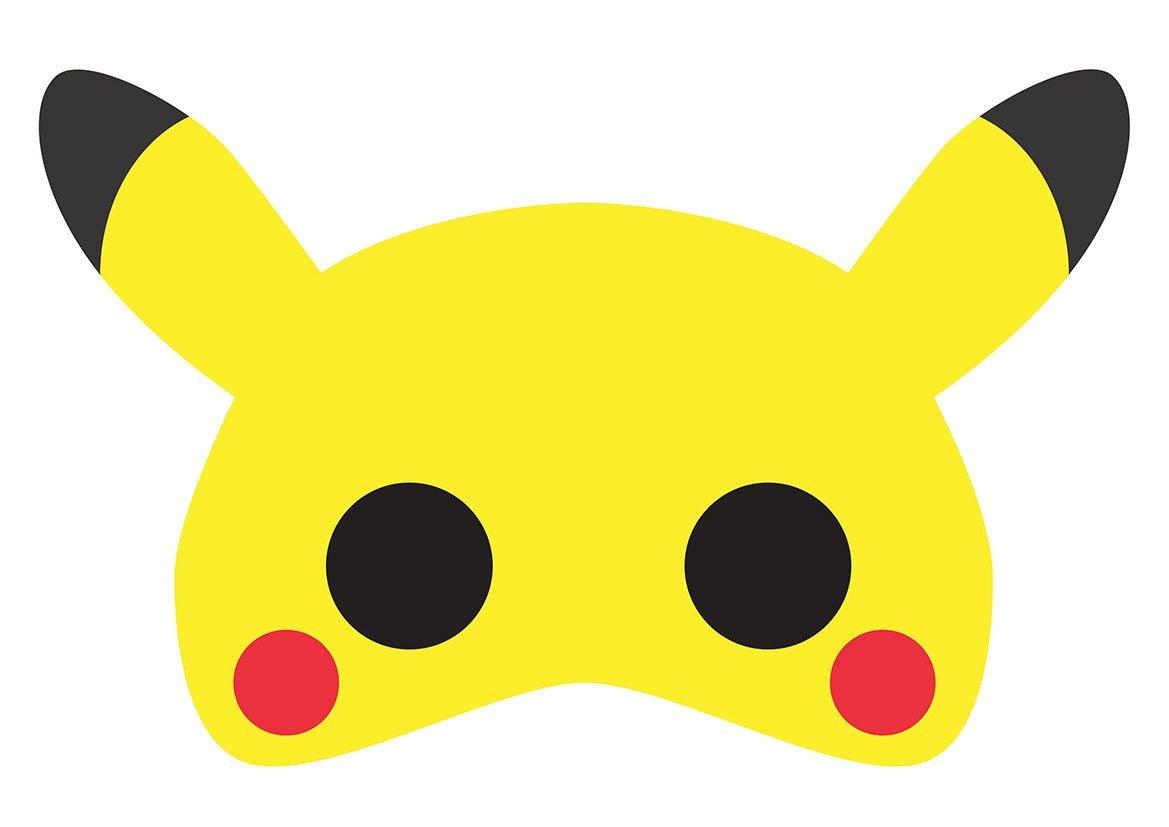 No Costume? No Problem! Heres A Printable Pikachu (Pokemon) Mask - Free Printable Pokemon Masks