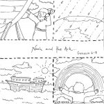 Noah And The Ark Coloring Pages   Free Noah's Ark Printables