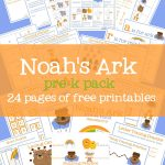 Noah's Ark Activities [Free Printables] – Mary Martha Mama   Free Noah's Ark Printables