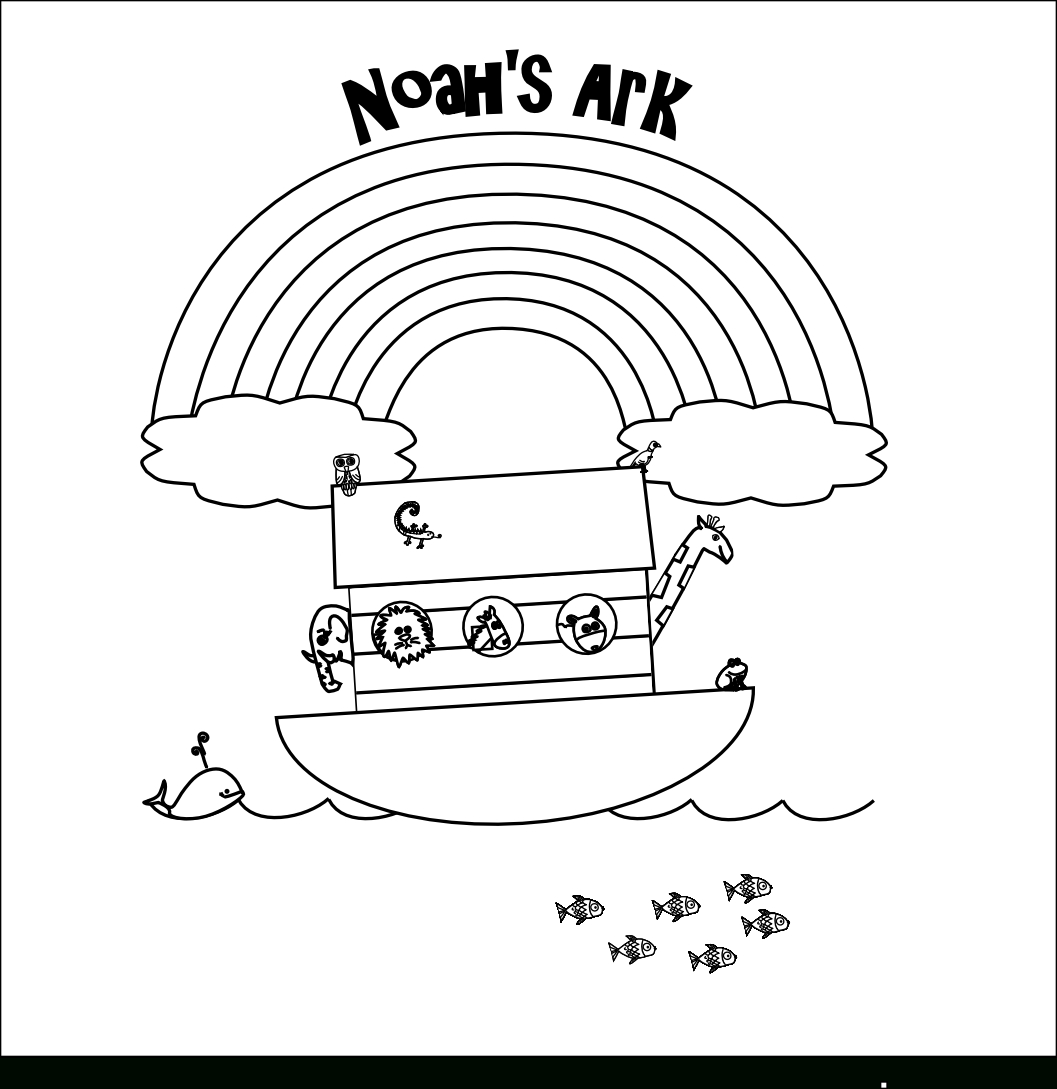 Noah's Ark Printables | Noah And The Ark Coloring Page | Smarty - Free Noah's Ark Printables