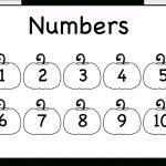 Number Chart – 1 10 – Worksheet / Free Printable Worksheets   Free Printable Number Chart 1 10
