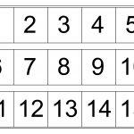 Number Chart 1 15 | Kindergarten Worksheets | Number Chart, Numbers   Free Printable Number Chart 1 10