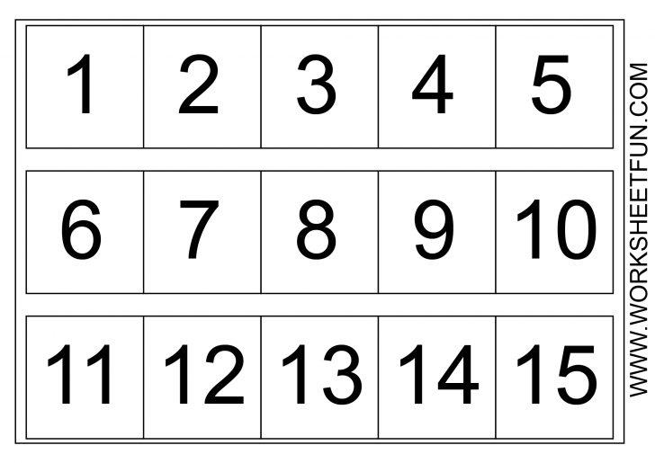 Free Printable Number Chart 1 10