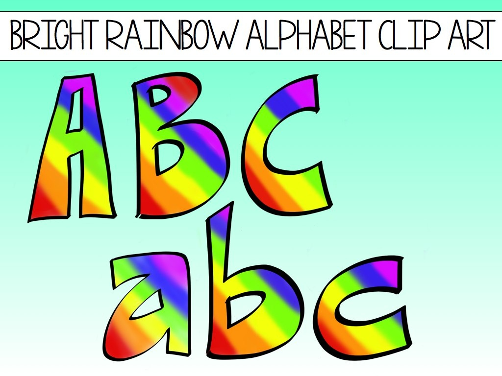 Numbers And Letters Clipart | Free Download Best Numbers And Letters - Free Printable Clip Art Letters