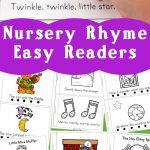 Nursery Rhyme Easy Reader Books | Little Books | Nursery Rhymes   Free Printable Easy Readers For Kindergarten