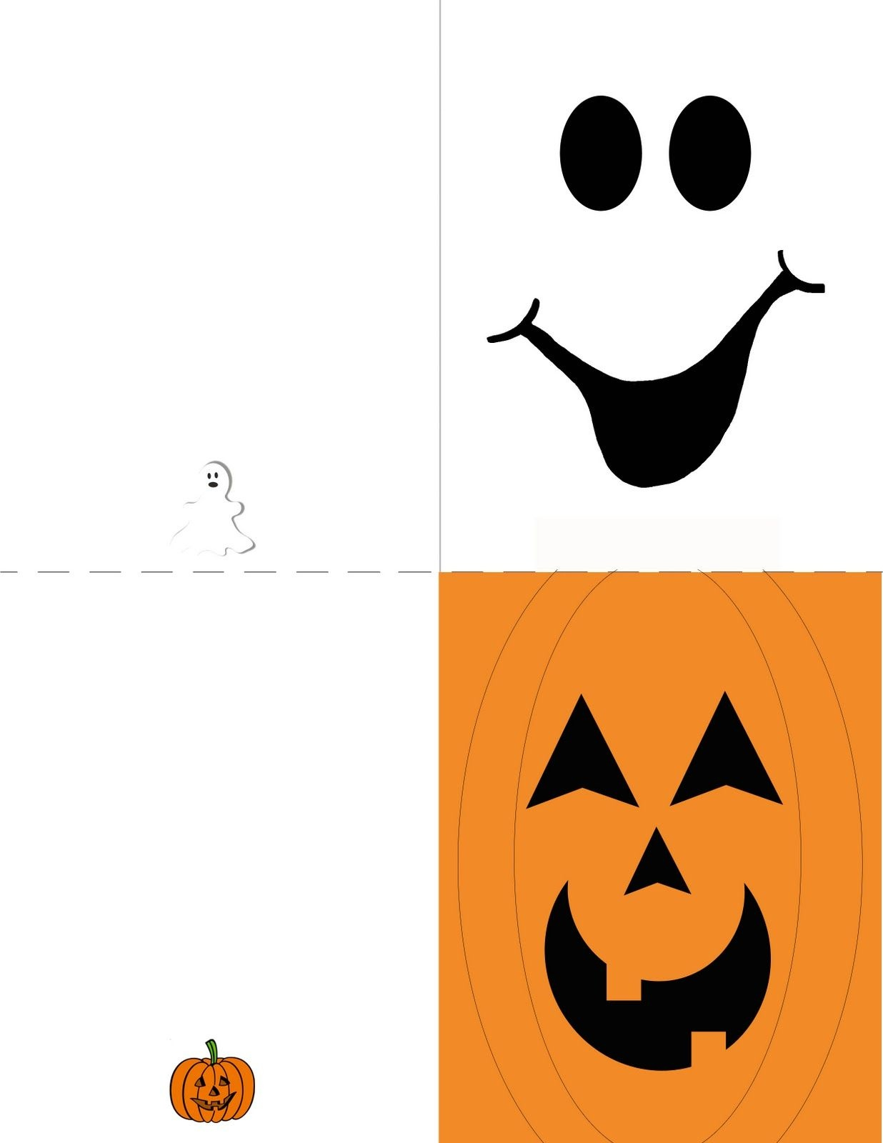 Obsessively Crafting: Free Printables   Halloween Cards And - Free Printable Halloween Cards