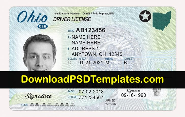 Free Printable Fake Drivers License