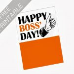 Oil And Blue: Free Printables   Happy Boss' Day Card | Party Ideas   Free Printable Boss's Day Cards