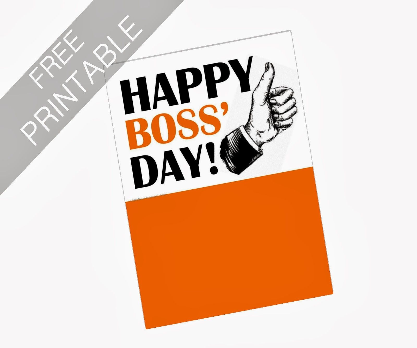 Oil And Blue: Free Printables - Happy Boss' Day Card | Party Ideas - Free Printable Boss's Day Cards