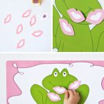 One Charming Party | Birthday Party Ideas › Pin The Kiss On The Frog   Pin The Kiss On The Frog Free Printable