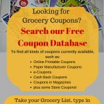 Online Coupon Database Free Grocery Coupons   Free Printable Chinet Coupons