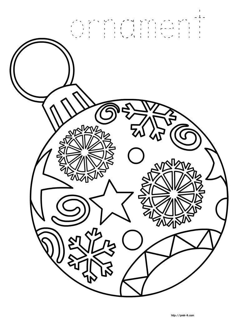 Ornaments Free Printable Christmas Coloring Pages For Kids | Paper - Free Printable Christmas Tree Ornaments Coloring Pages