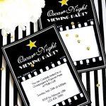 Oscars Viewing Party Ideas | Diy Popcorn Bar & Printables   Party   Popcorn Bar Free Printables