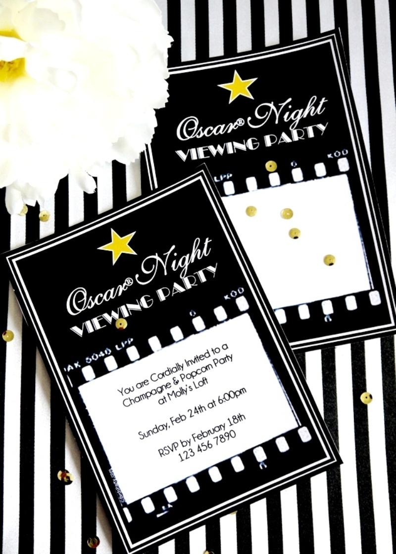 Oscars Viewing Party Ideas | Diy Popcorn Bar & Printables - Party - Popcorn Bar Free Printables