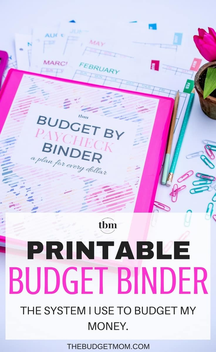 Our 2017 Budget Binder (A Plan For Every Dollar) - The Budget Mom - Budget Binder Printables 2017 Free