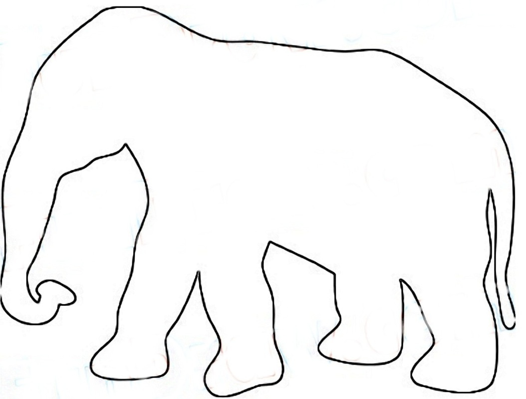 Outlines Of Animals | Free Download Best Outlines Of Animals On - Free Printable Arty Animal Outlines