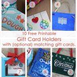 Over 50 Printable Gift Card Holders For The Holidays | Gcg   Free Printable Christmas Gift Cards