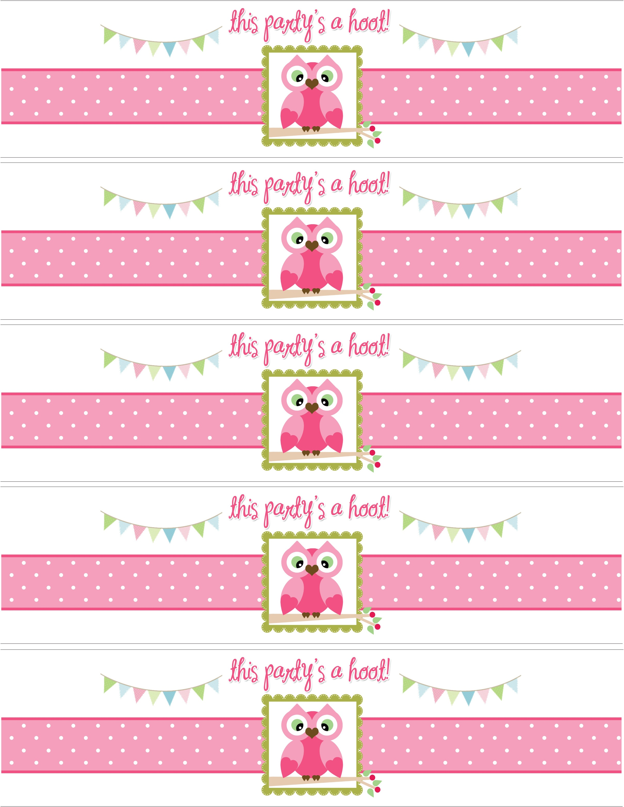 Owl Themed Birthday Party With Free Printables - How To Nest For - Free Owl Printables
