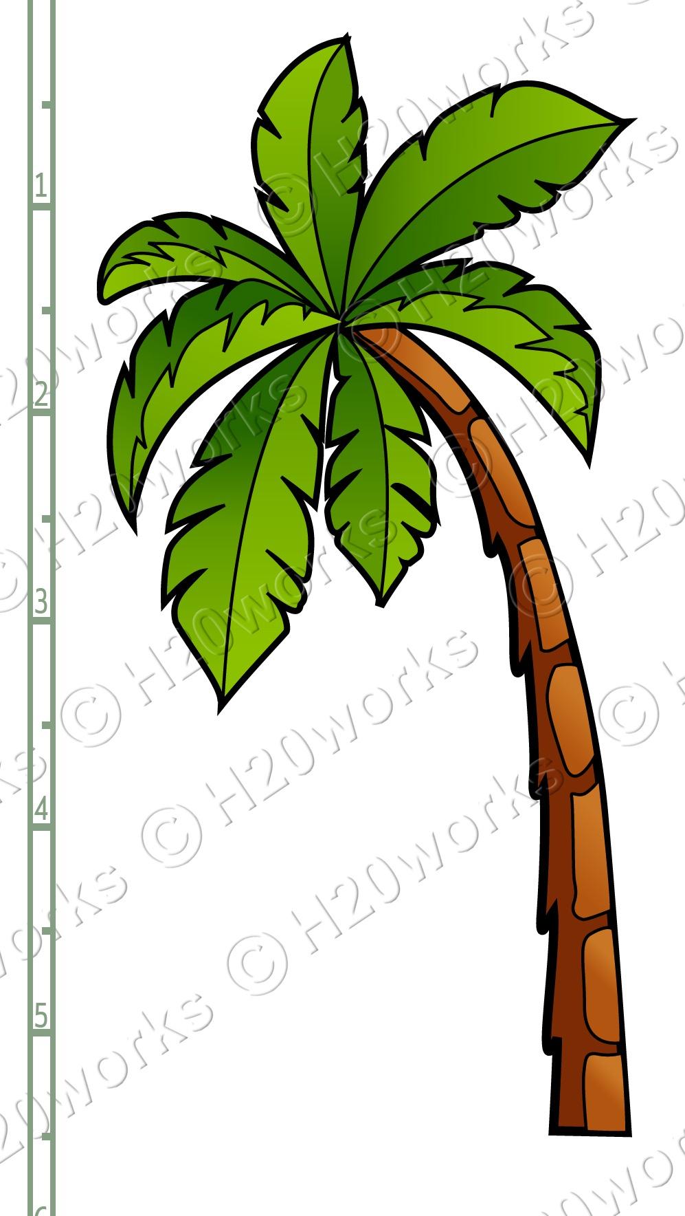 Palm Tree Printable Clipart - Free Printable Palm Tree Template - Free Printable Palm Tree Template