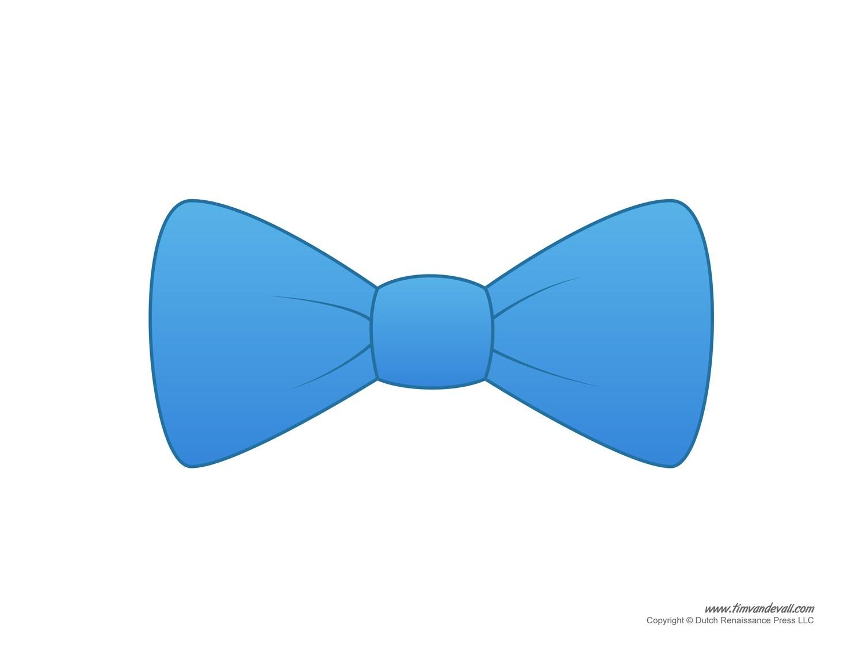 Paper Bow Tie Templates | Bow Tie Printables - Free Bow Tie Template Printable