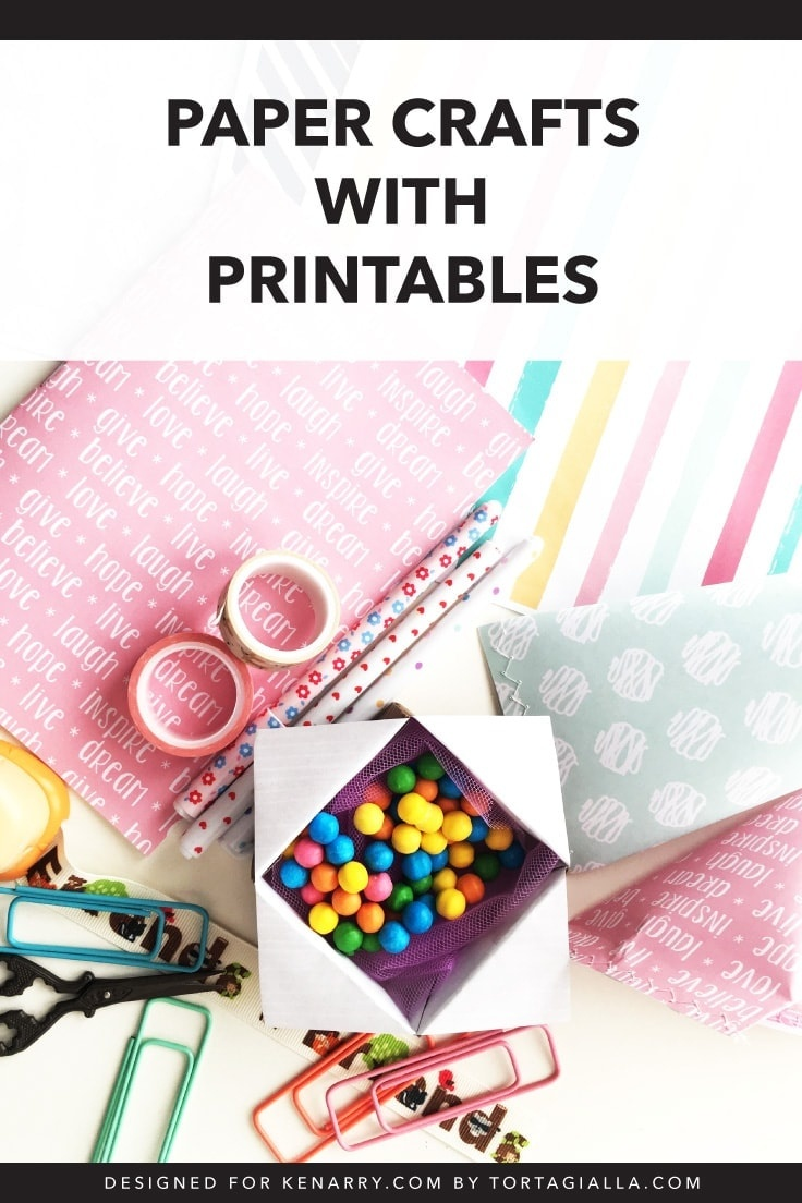 Paper Crafts With Printables: Free Download | Ideas For The Home - Free Printable Paper Crafts