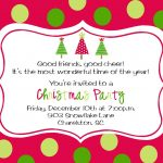 Party Invitation Template Online Free | It's Christmas Time   Free Online Printable Christmas Party Invitations