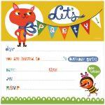 Party Invite Printables   Kaza.psstech.co   Free Printable Birthday Invitation Cards Templates