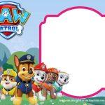 Paw Patrol Birthday Invitation Templates – Most Complete   Paw Patrol Free Printables Invitations