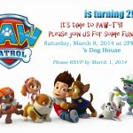 Paw Patrol Party! This Site Has Tons Of Ideas And Free Pintable's Or   Free Printable Paw Patrol Invitations
