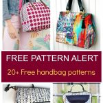 Pdf Sewing Patterns | On The Cutting Floor | Sewing Patterns Free   Handbag Patterns Free Printable