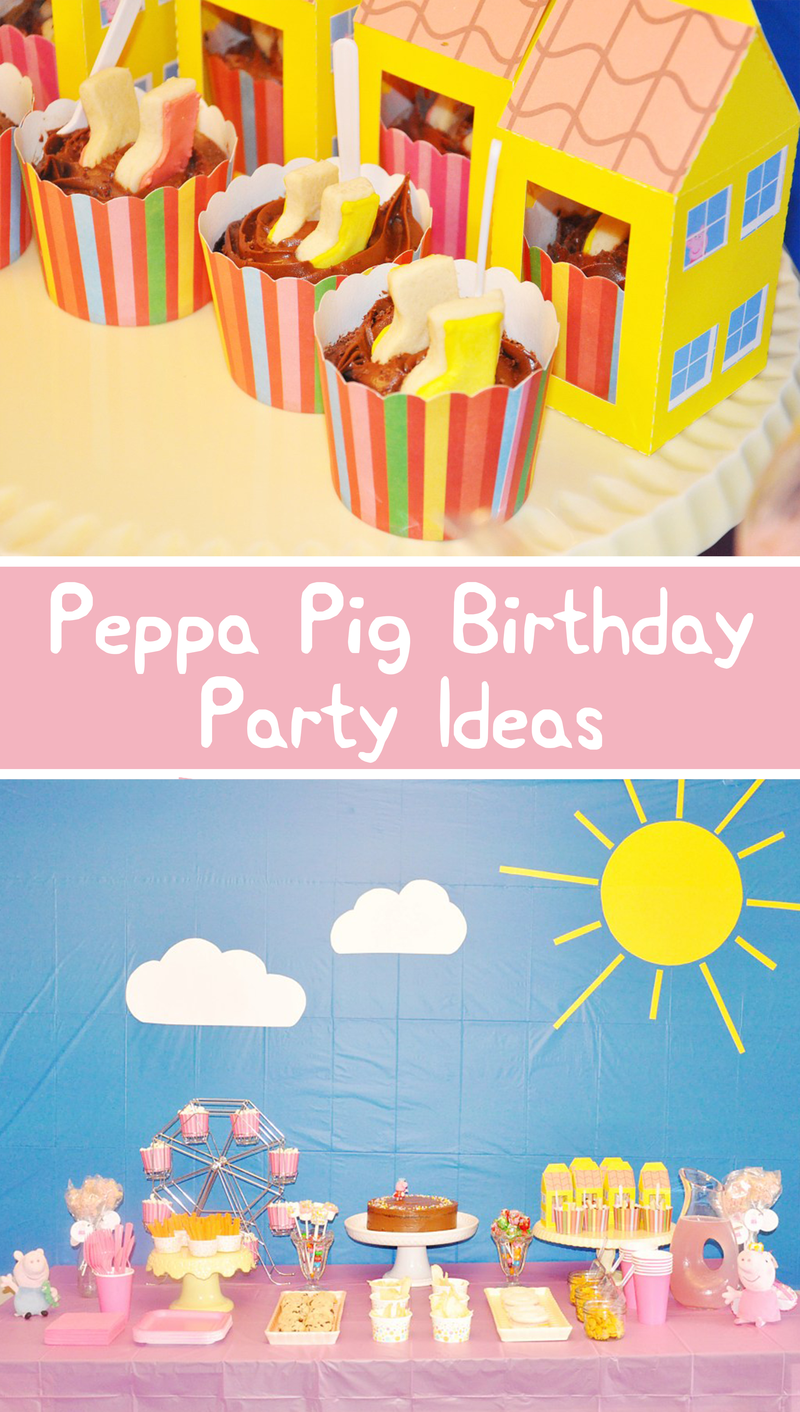 Peppa Pig Birthday Party! (Simple Diy Ideas & Free Printables - Peppa Pig Free Printables